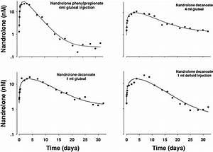 testosterone propionate half life chart