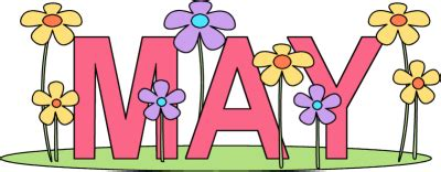 Image result for May Month Clip Art