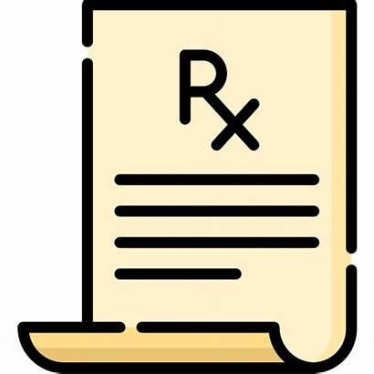 Prescription Icon Icons Flaticon Medical