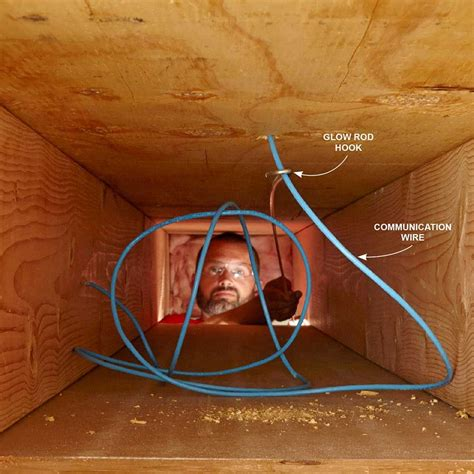 fishing electrical wire  walls electrical wiring