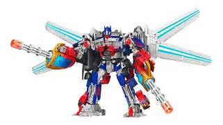 Amazon com  Transformers Dark of the Moon Jetwing Optimus Prime  Toys      Transformers 3 Optimus Prime Jetpack