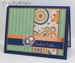 Stampin' Up! Paisleys & Posies Just a Note – Stamp With ...