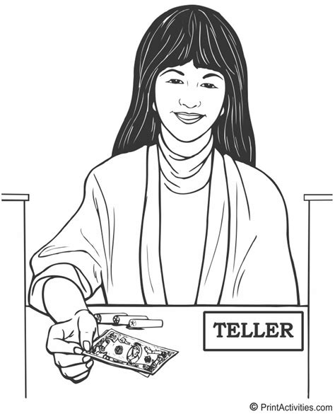 Bank Teller Clipart  Clipart Suggest