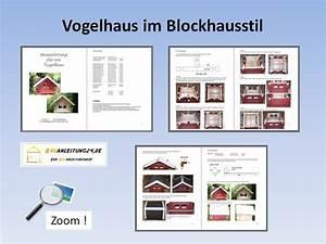 Bauanleitung Für Vogelhaus : bauanleitung vogelhaus im blockhausstil ~ Michelbontemps.com Haus und Dekorationen