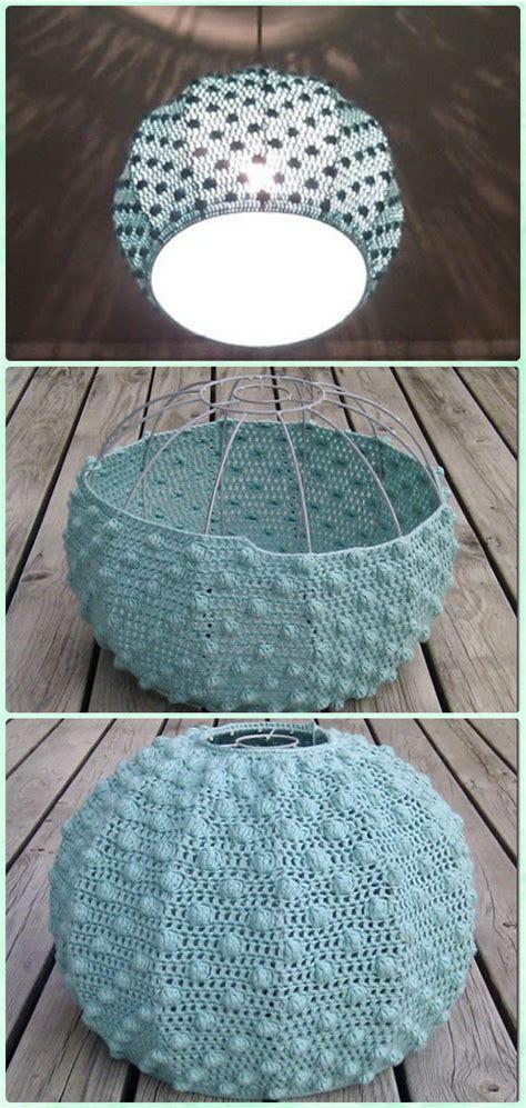 crochet lamp shade  pattern instructions