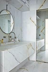 Modele De Salle De Bain Moderne : beaucoup d 39 id es en photos pour la salle de bain en marbre ~ Dailycaller-alerts.com Idées de Décoration
