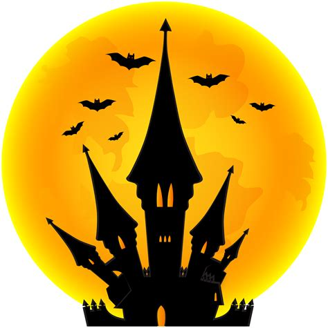 halloween moon castle png clip art image gallery yopriceville