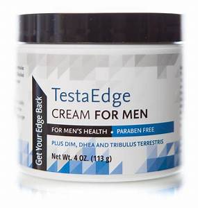 Lel Testaedge Testosterone Booster Men Cream Gel