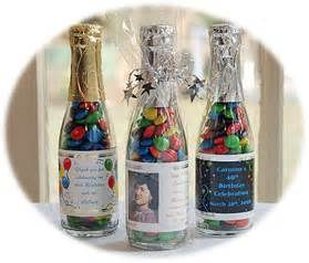 m m wedding favors m and ms wedding favor in a bottle
