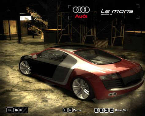 Need For Speed Most Wanted Audi Le-Mans Quattro 5.2 FSI ...