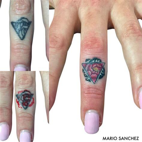 finger tattoo cover  cover ups pinterest tattoo