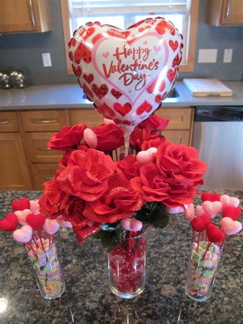 valentines day centerpieces frugal valentine s day decor table centerpiece total cost 16 what rose knows