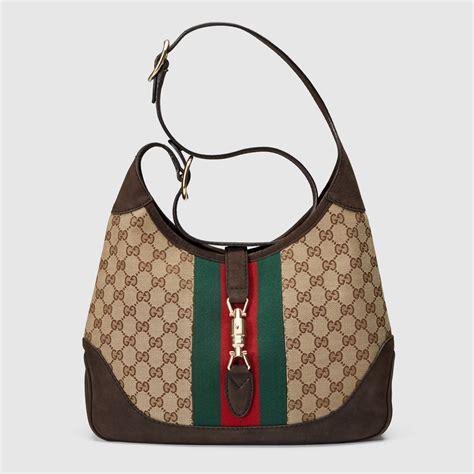 jackie original gg shoulder bag gucci womens shoulder