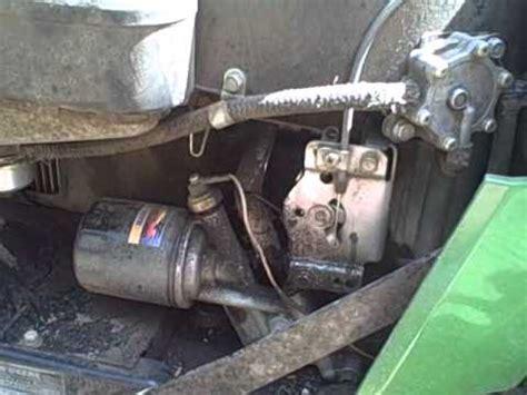 john deere  hydro repair project part  youtube