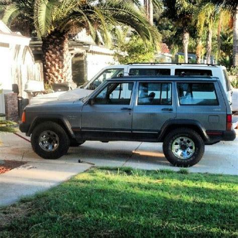 jeep cherokee xj grey jeep information