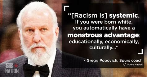 gregg popovich reflects  black history month white