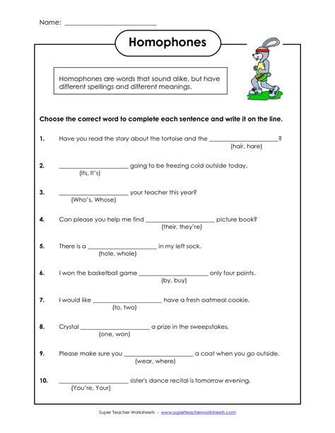 homophones worksheet homophones worksheets pdf wallpaper