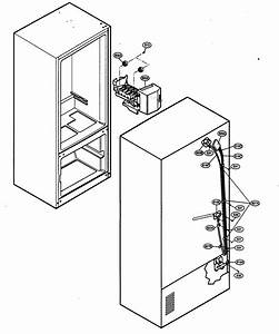 Ice  Maker Parts Diagram  U0026 Parts List For Model 79575192400