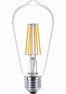 Led Lampen Philips : cla ledbulb dt 8 60w st64 e27 cl klassieke led ~ Kayakingforconservation.com Haus und Dekorationen