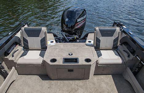 boat interior fabric crestliner 1750 hawk 17 foot aluminum ski and fish 1750