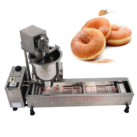 Commercial Full Automatic Donut Machine 110v Or 220v 3000W