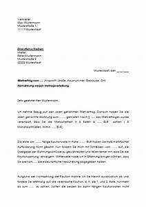 Kündigung Mietvertrag Wegen Eigenbedarf : vertrag vorlage k ndigungsbest tigung ~ Lizthompson.info Haus und Dekorationen