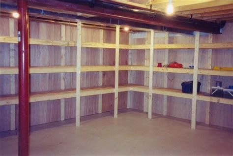 unfinished basement storage ideas  pinterest basement storage unfinished basements