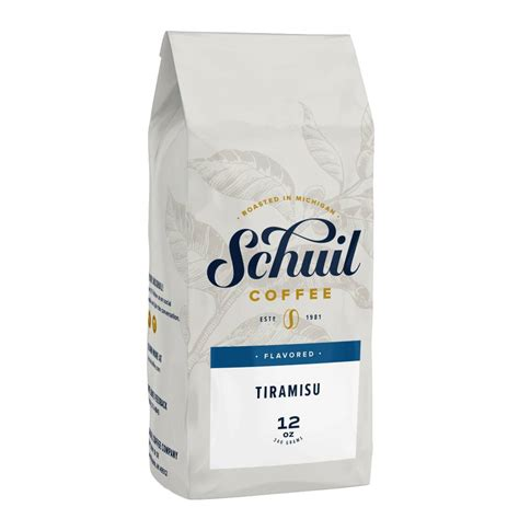 Although i'm (half) sicilian, i didn't grow up with this dessert at family dinner tables very much. Schuil Schuil Tiramisu Flavored Coffee 12oz - Peters Gourmet Market