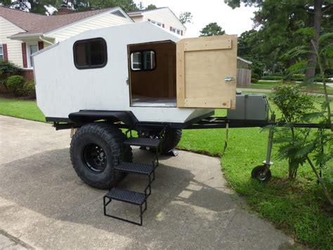 offroad trailer teardrop cer interiors homemade offroad teardrop