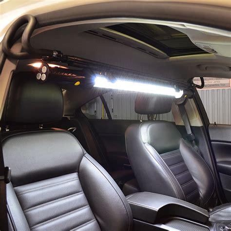 interior auto detailing light bar
