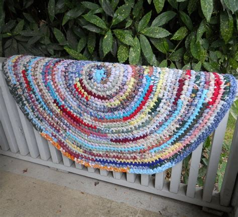 How To Shoo A Rug by Rag Rug The Random Every Color Look Exactly What I M