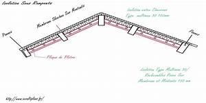 Pose Pare Vapeur Sur Rail Placo : isolation plafond entre poutres apparentes isolation d 39 un plafond par laine de verre entre ~ Medecine-chirurgie-esthetiques.com Avis de Voitures