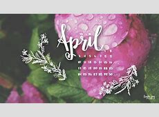 april showers bring may flowers wallpaper