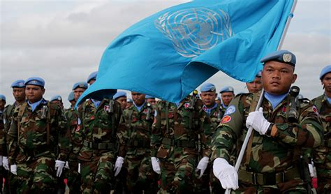 cambodian soldiers join  peacekeeping missions khmer times