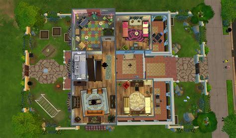 floor plans sims 4 superior modern family house floor plan 4 sims 4 download casa martina floorplan secondfloor
