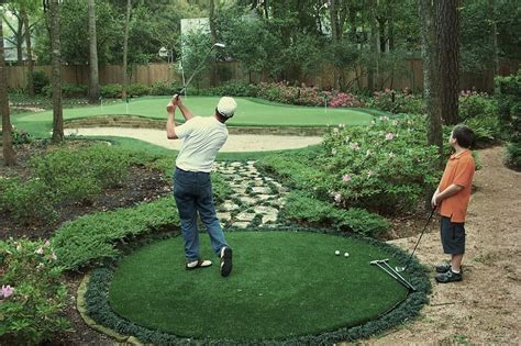 Backyard Artificial Putting Green by Synthetic Turf Putting Greens Synthetic Grass Turf