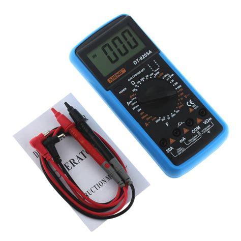 aneng dt 9205a digital multimeter multimetro ammeter