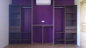 Placard Sur Mesure Pas Cher : 9 primaire placard avec rideau banc bout de lit ~ Dallasstarsshop.com Idées de Décoration