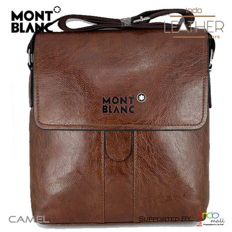 slempang kulit mont blanc tas slempang kulit pria exclusive tas selempang  kerja ee274067f7