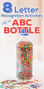 letter recognition activities with abc bottle With toddler recognizing letters