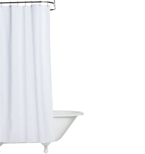 white cotton duck cloth shower curtain rejuvenation