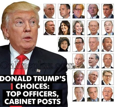 Current Cabinet Members by President Donald S Cabinet Members List Of Donald