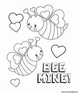Coloring Mine Pages Valentine Printable sketch template