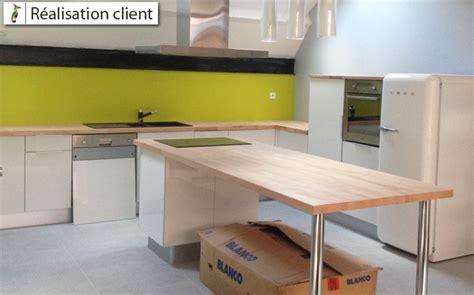 sur la cuisine aménager sa cuisine ouverte sur mesure le du bois
