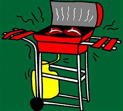 Grill Gas Propane Safety Drawing Gasgrill Yellow