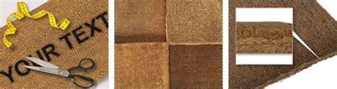 made to measure coir doormats doormats for you a door mat for your home