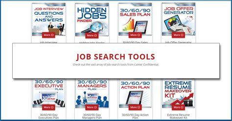 search tools for search success career confidential