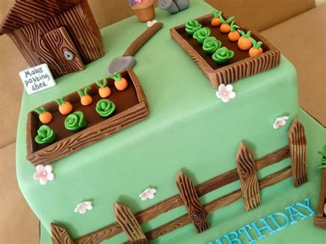 Garden Decoration For Cake by Best 25 Garden Theme Cake Ideas On
