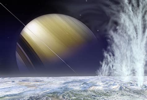 Saturn's Icy Moon Enceladus - Universe Today