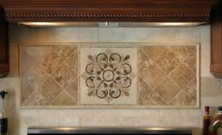 tile medallions for kitchen backsplash kitchen medallions for backsplash hegle tile kitchens tile backsplash medallions and